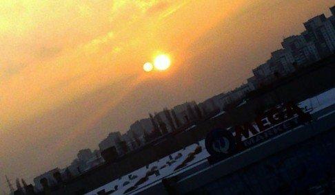 pomracenje sunca na nasem nebu