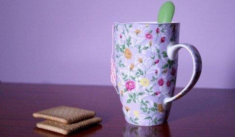 Slikajte čajem