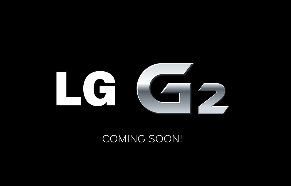 LG G2 coming soon!