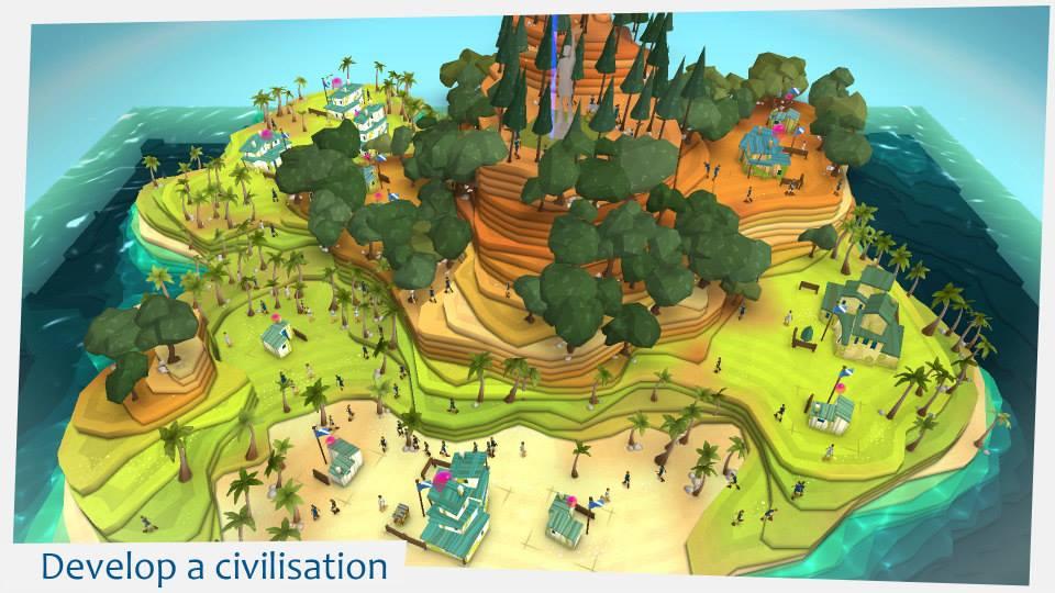 Godus game screenshot