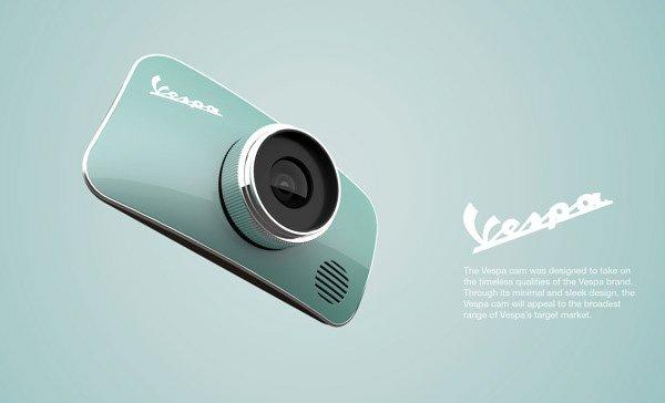 Vespa kamera