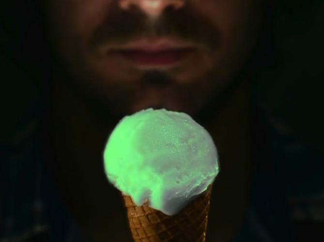 Svetleći sladoled - YouTube